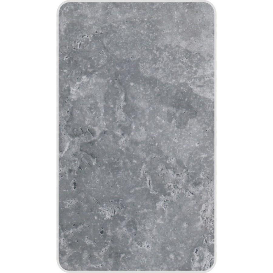 Grey Metalic Shower Wall Panels Kit 1000mm X 2 4m X 10mm 2