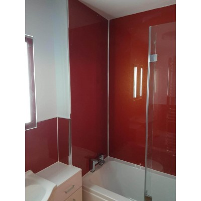 1000mm x 2.4m x 10mm thick shower wall panels wet wall